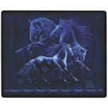 MOUSEPAD - RAYS BLUE FANDANGO - 22503 - Gr. ca. 20 x 24 cm - ©Kollektion Bötzel