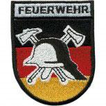 Aufnäher Patch Applikation Feuerwehr - 00410 - Gr. ca. 8 x 11 cm -