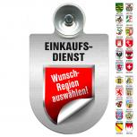 Einsatzschild Windschutzscheibe incl. Saugnapf - EINKAUFSDIENST - 309793