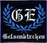 AUFNÄHER - GE GELSENKIRCHEN - 00754 Gr. ca. 8,5 cm x 8 cm
