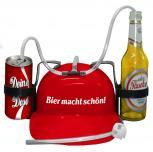 Trinkhelm Spaßhelm mit Printmotiv - Bier macht schön - 51634 - versch. Farben zur Wahl