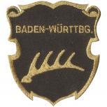 Aufnäher - Brandzeichen Baden-Württbg. - 04645 - Gr. ca. 6,5 x 7 cm - Patches Stick Applikation