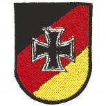 Aufnäher - Eisernes Kreuz - 03262 - Gr. ca. 5 x 6,5 cm - Patches Stick Applikation