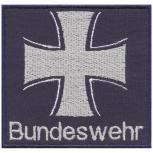 Aufnäher - Bundeswehr - Eisernes Kreuz- 03298 - Gr. ca. 7,5 x 7 cm - Patches Stick Applikation