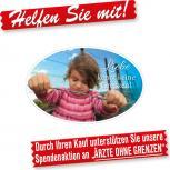 PVC-AUFKLEBER - Liebe kennt keine Grenzen - 303280-1 - Gr.ca.15 x 6cm -