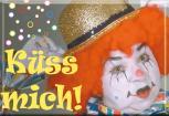 Küchenmagnet - Küss mich - Gr. ca. 8 x 5,5 cm - 38194 - Magnet