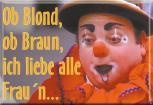 Küchenmagnet - Ob blond, ob.... - Gr. ca. 8 x 5,5 cm - 38193 - Magnet