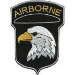 Aufnäher - Airborne - 01845 - Gr. ca. 7 x  10 cm