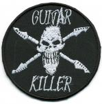 Aufnäher - Guitar Killer - 06077 - Gr. ca. 8,5 cm - Patches Stick Applikation