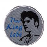 Aufnäher - Der King lebt - Elvis - 02945 - Gr. ca. 8,5 cm Durchmesser - Patches Stick Applikation