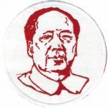 Aufnäher - Mao - 04403 - Gr. ca. 8,5 cm Durchmesser - Patches Stick Applikation