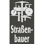 Hosenträger mit Print - Zunftzeichen Strassenbauer - 06758 schwarz