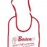 Baby-Lätzchen mit Druckmotiv - Baden Nachkomme - 84440 - weiss