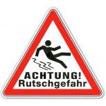 Warnschild - Achtung Rutschgefahr - 308537 - Gr. 23cm x 20cm