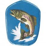 Aufnäher - Fisch Aal Butt Hecht - 04666 - Gr. ca. 8-11cm