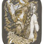 Aufnäher - Wikinger Mystik LIZENZ SERIE MILOSCH - 04715 - Gr. ca. 7x10 cm - Patches Applikation Stick
