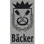 Hosenträger mit Print - Zunftzeichen Bäcker - 06743 grau
