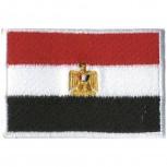 Aufnäher - Ägypten Flagge - 21561 - Gr. ca. 8 x 5 cm