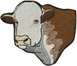 Aufnäher - Kuh Rind Ochse Bulle - 00951 - Gr. ca. 7cm x 7cm