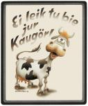 Mousepad Mauspad mit Motiv - Ei leik to bie jur Kaugörl - 22699 - Gr. ca. 24 x 20 cm-